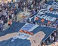 Gent-fans lachen KVM uit met Europa League-tifo (📸)