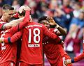 Bayern München mag de dubbel vieren na simpele zege in bekerfinale
