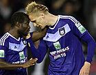 Foto: Anderlecht-fans schreeuwen om terugkeer publiekslieveling