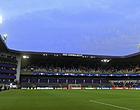 Foto: Stormweer houdt lelijk huis: Anderlecht moet ingrijpen