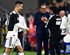"""Foto: Sarri brengt slecht nieuws over Ronaldo: """"99 procent zeker"""""""