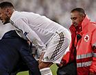 """Foto: Martinez bevestigt horrorscenario: """"Hazard mist de rest van het seizoen"""""""