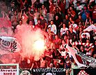 """Foto: Antwerp-fans ondernemen actie: """"Niet om aan te horen tegen Club en Genk"""""""