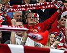 """Foto: Antwerp-speler wijst fans terecht: """"Dit kan echt niet"""""""