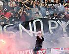 Foto: KBVB komt met statement over Antwerp-spandoek