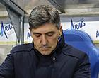 Foto: Mazzu ontslagen bij Racing Genk, club stelt tijdelijke vervanger aan