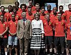 Foto: Koninklijk Paleis reageert op 'korte broeken-rel' Rode Duivels