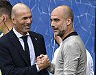 Foto: Guardiola en Zidane zorgen voor schitterend beeld na City-Real