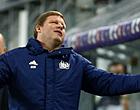 Foto: Hommeles bij Anderlecht: Vanhaezebrouck zet duo uit selectie