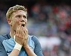 Foto: City fleurt comeback De Bruyne op met pandoering, Tottenham wint nipt