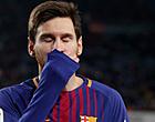 Foto: UPDATE: FC Barcelona krijgt slecht nieuws over blessure Messi