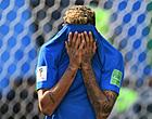 """Foto: Steun voor huilende Neymar: """"Hij is maar een mens"""""""