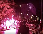 Foto: Corona even vergeten: Charleroi-fans uit hun dak