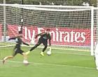 Foto: 'Courtois doet monden openvallen op training bij Real'
