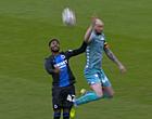 Foto: KBVB velt verdict over doelpunt Club Brugge (en 3 andere fases)