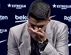 Foto: Suarez breekt bij afscheid, Barça-fans woedend