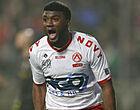 Foto: 'Moffi kan na half seizoen al KV Kortrijk verlaten voor zeer fraaie transfer'