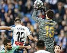 """Foto: Spanjaarden genieten van 'nieuwe Courtois': """"De muur staat er weer"""""""