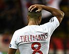 Foto: Tielemans en Monaco moeten alweer een vernedering slikken