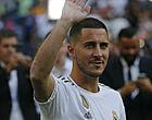 Foto: 'Hazard debuteert bij Real met regelrecht bizar rugnummer'
