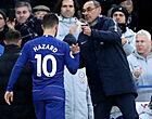 """Foto: Sarri deelt prik uit aan Hazard: """"Hij zorgde daar voor problemen"""""""