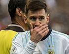 Foto: Messi loodst Argentinië naar gelijkspel tegen Uruguay