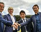 Foto: STVV start samenwerking met club uit de J League