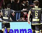 Foto: KV Kortrijk laat zich kaas van het brood eten in derby tegen Moeskroen