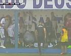 Foto: Bizarre beelden: Braziliaanse speler wordt getroffen door bliksemschicht