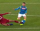 Foto: OW! Mertens ontsnapt aan blessure na stevige tackle Van Dijk (🎥)
