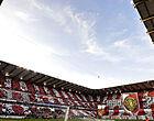 Foto: Standard-fans laten zich van hun kleinste kant zien in Moeskroen