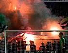 "Foto: Cercle-fans steken Club-vlag in brand in de tribune: ""Crapuul!"""