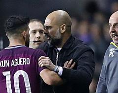 VIDEO: Belaagde Aguero verkoopt Wigan-fan een klap