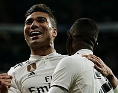 Real Madrid mag Casemiro en VAR danken voor zege tegen Sevilla