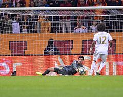 Courtois reageert na koninklijke prestatie in Champions League