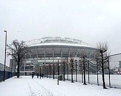 Hevige sneeuwval: Vreemd probleem bij Ajax-PSV