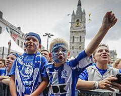Spelers van AA Gent brengen bezoekje aan Gentse Feesten