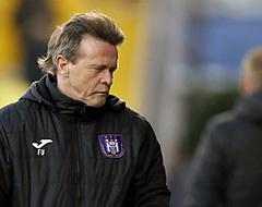 'Toekomst Vercauteren onzeker bij Anderlecht'