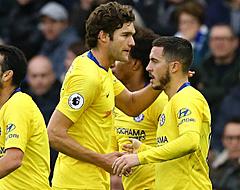 Uitblinker Hazard leidt Chelsea naar nipte zege, schipbreuk voor Arsenal
