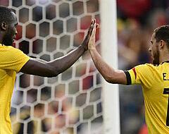 """Hazard komt terug op 'terechtwijzing' Lukaku: """"Ik heb hem niet aangevallen"""""""