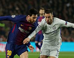 'Messi mengt zich persoonlijk in transfersoap Hazard'