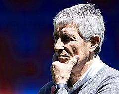 'Setién 'doodsbang' om beste ploeg op te stellen bij Barça'