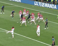 Video: Griezmann trapt Fransen met gelukje op voorsprong