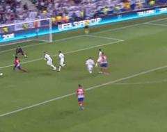 Video: Saul doet Real pijn met geweldige volley