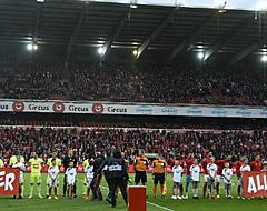'Standard-doelwit gespot op tribunes Sclessin'
