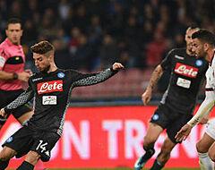 Mertens zet Napoli op weg naar driepunter tegen AC Milan met deze assist (VIDEO)