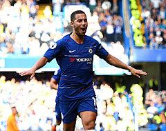 UPDATE: Hazard komt donderdag niet in actie bij Chelsea