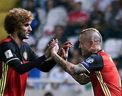 """Fellaini: """"We begrijpen de keuze van Martinez niet"""""""