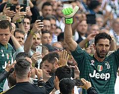 Zo neemt Juventus afscheid van Buffon (VIDEO)