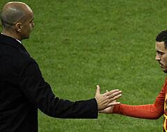 """Eden Hazard: """"Dat was zo afgesproken met de bondscoach"""""""